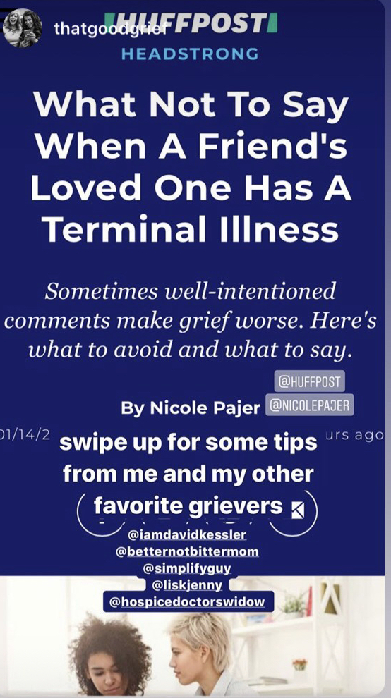 What Not To Say When A Friend's Loved One Has A Terminal Illness